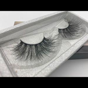 One pair 6d mink false eyelash 25mm